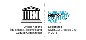 Logo Ljubljana - Unesco creative city color