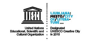 Logo Ljubljana - Unesco creative city color