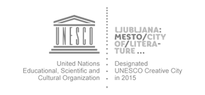 Logo Ljubljana - Unesco creative city