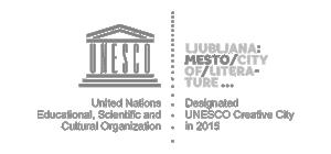 Logo Ljubljana - Unesco creative city