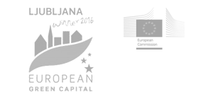 Logo Ljubljana - European green capital