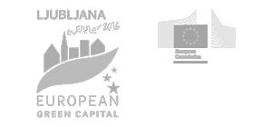 Logo Ljubljana - European green capital