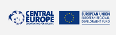 Logotip Central Europe barvni