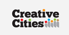 Logotip Creative cities barvni
