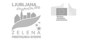 Logotip Ljubljana - Zelena prestolnica Evrope
