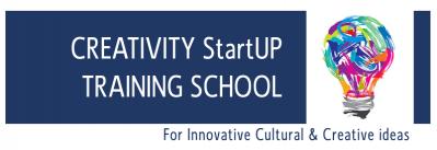 Creativity startup training school