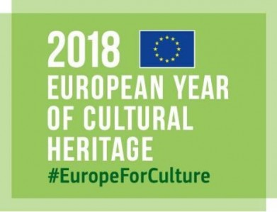 Logo European year of Cultural Heritage_green